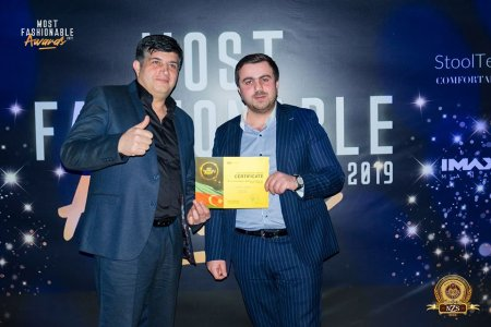 "NZS BEER ""Most Fashionable Awards 2019 Azerbaijan"" top 5-ə daxil olub"